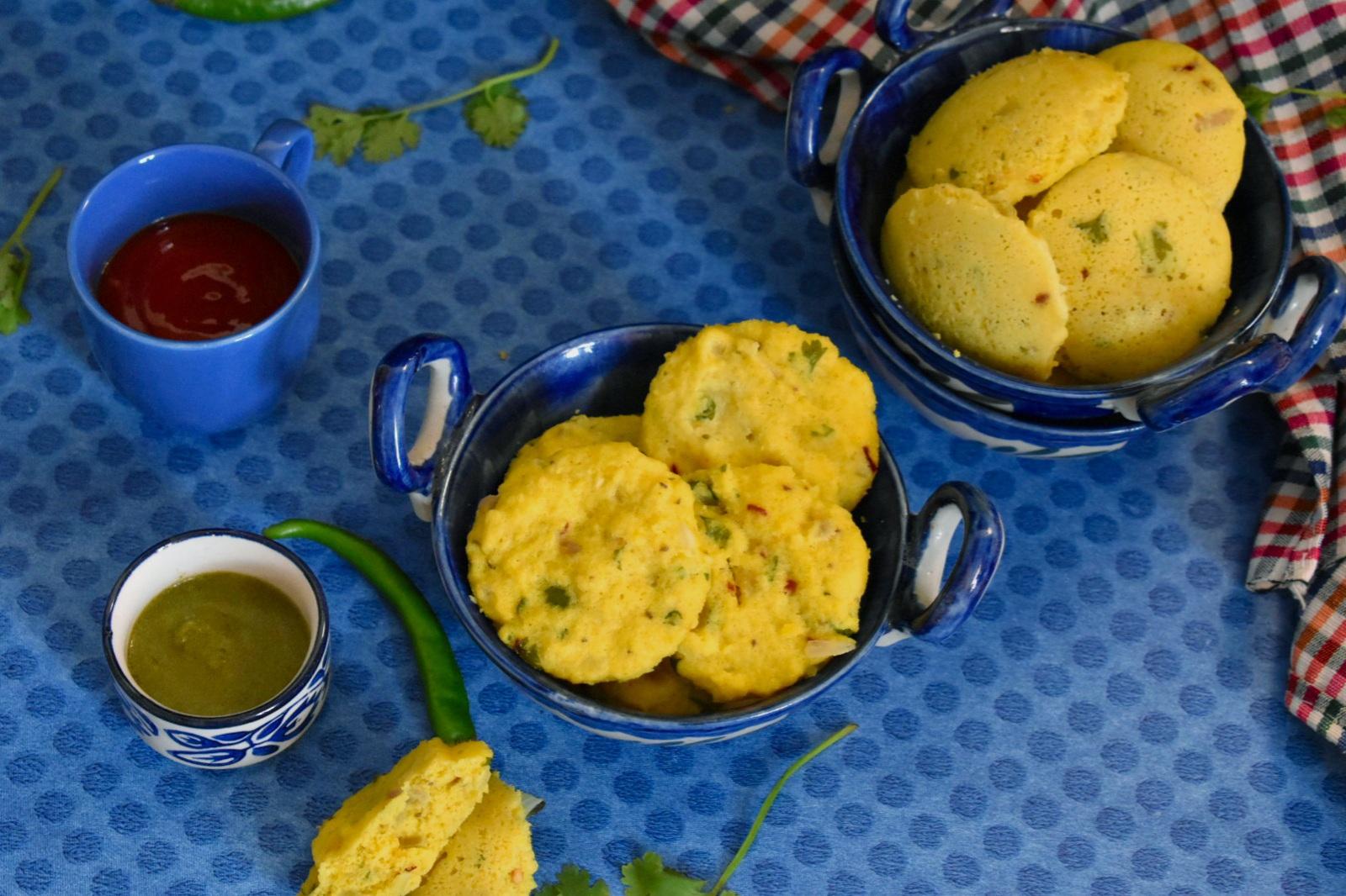 steamed bafauri recipe