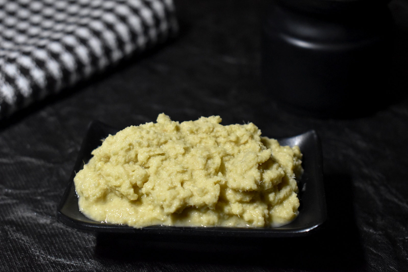 homemade ginger paste