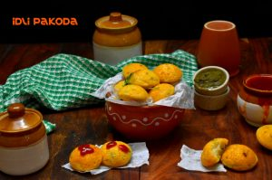 idli pakoda recipe