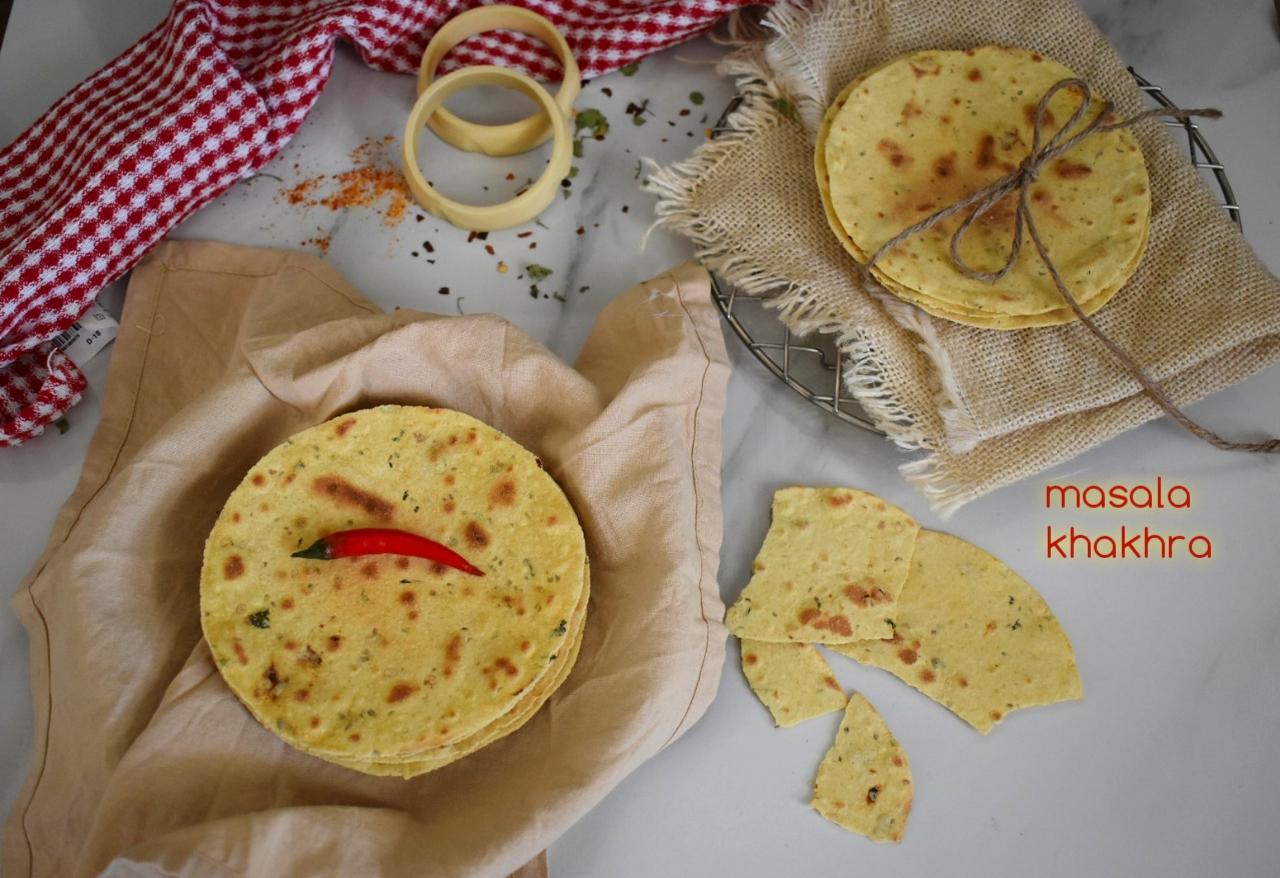 masala khakhra recipe