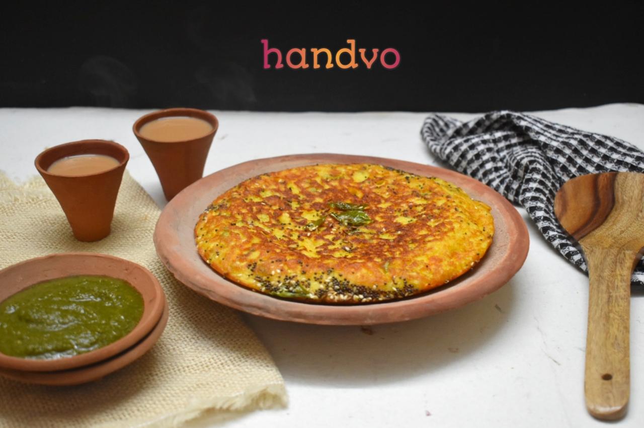Handvo Recipe