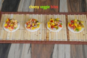 Cheesy Veggie Bites