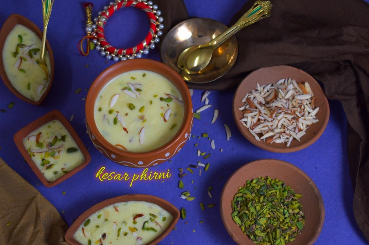 best kesar phirni recipe