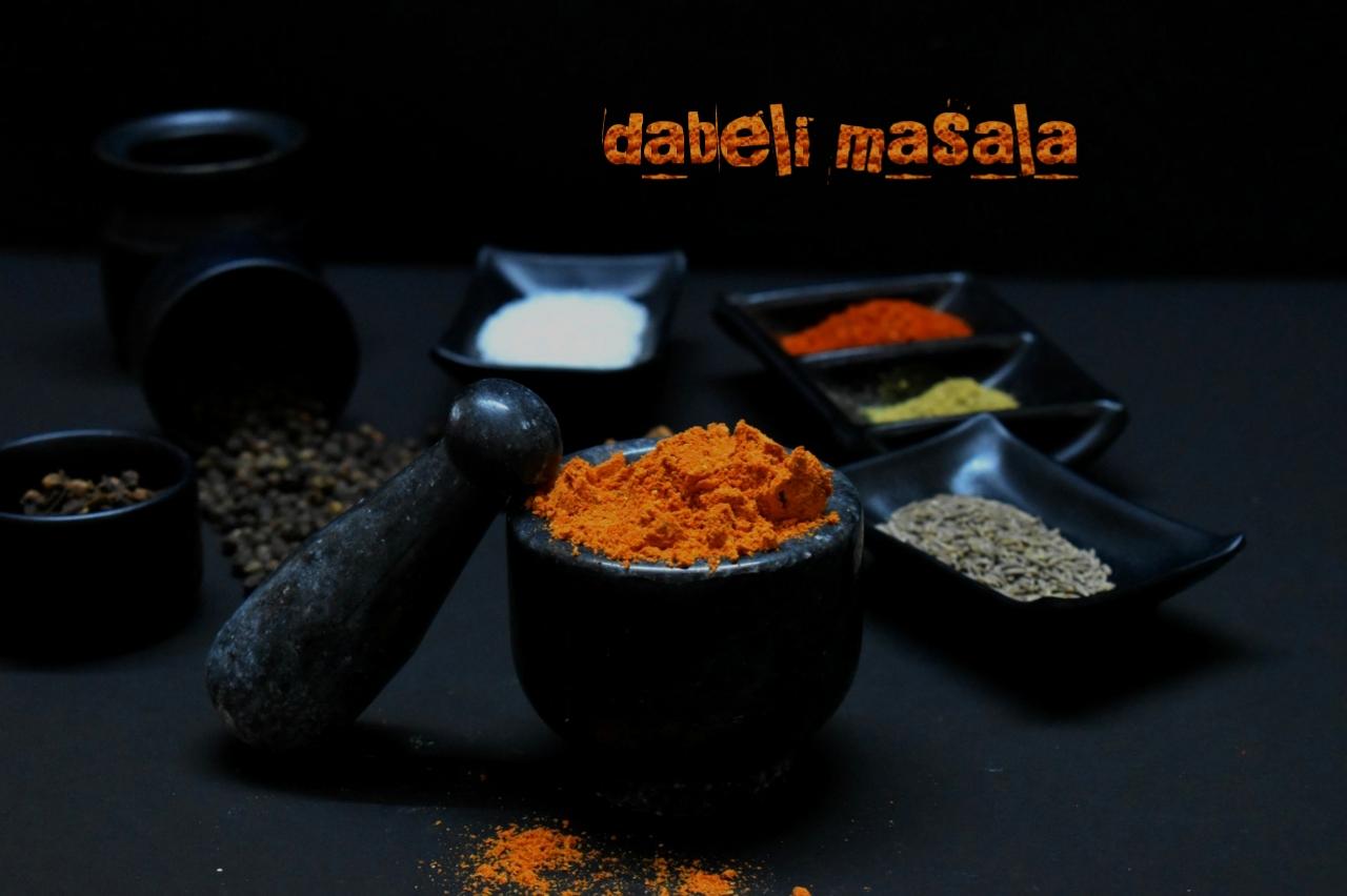 homemade dabeli masala powder