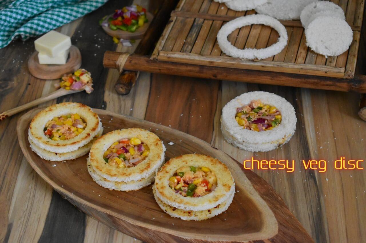 cheesy veg disc