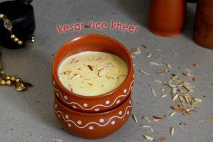 rice kesar kheer