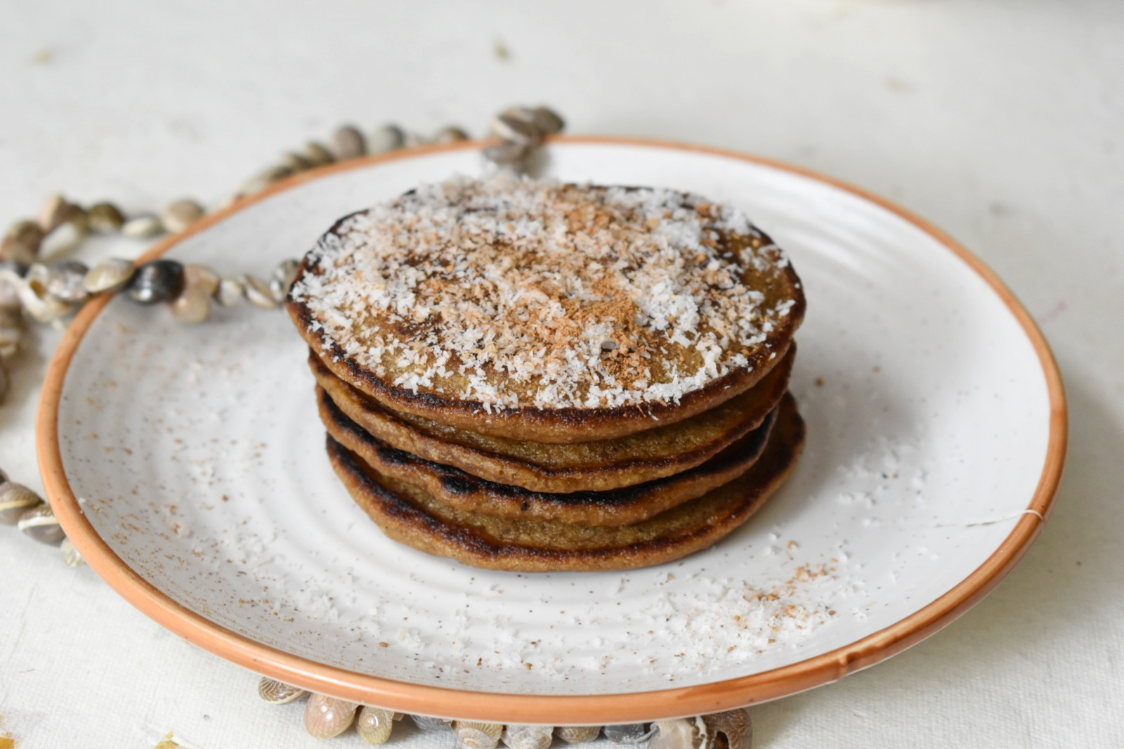 eggless whole wheat pancakes