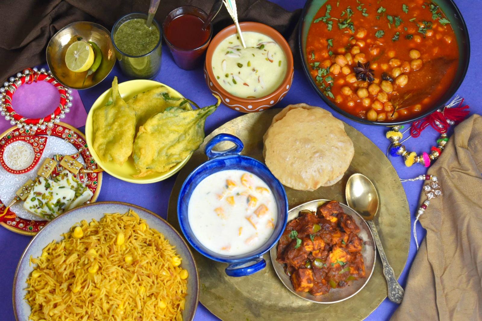 rakhi lunch menu