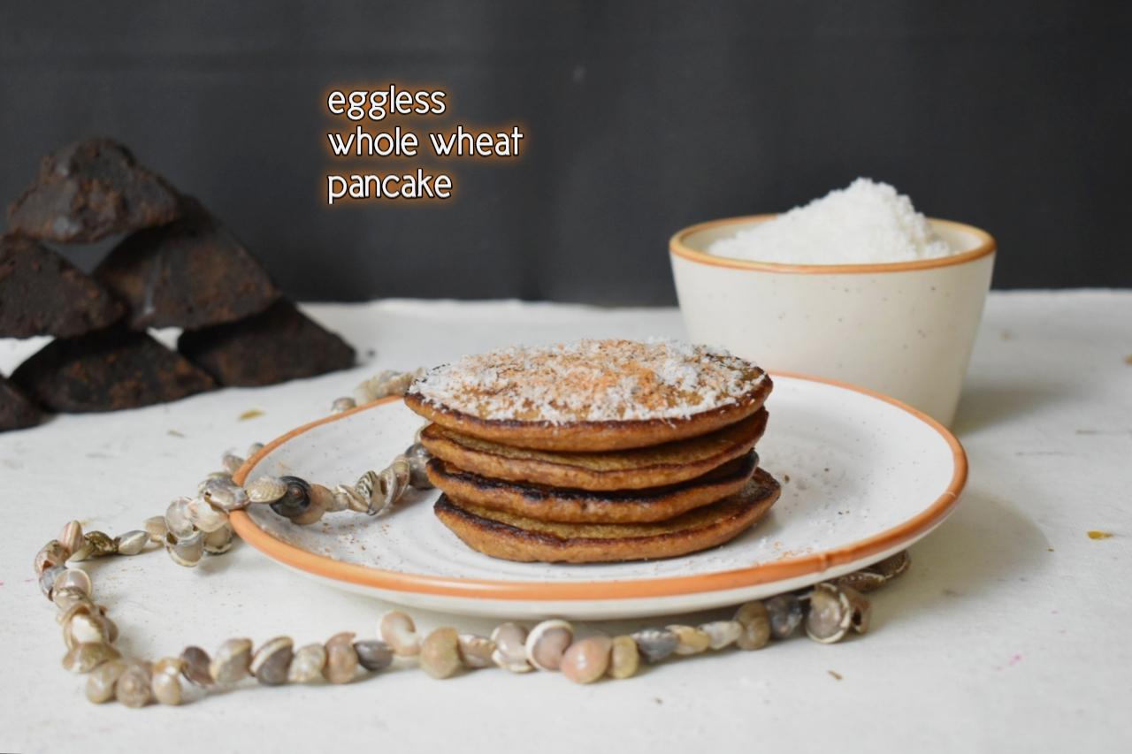 eggless pancake recipe