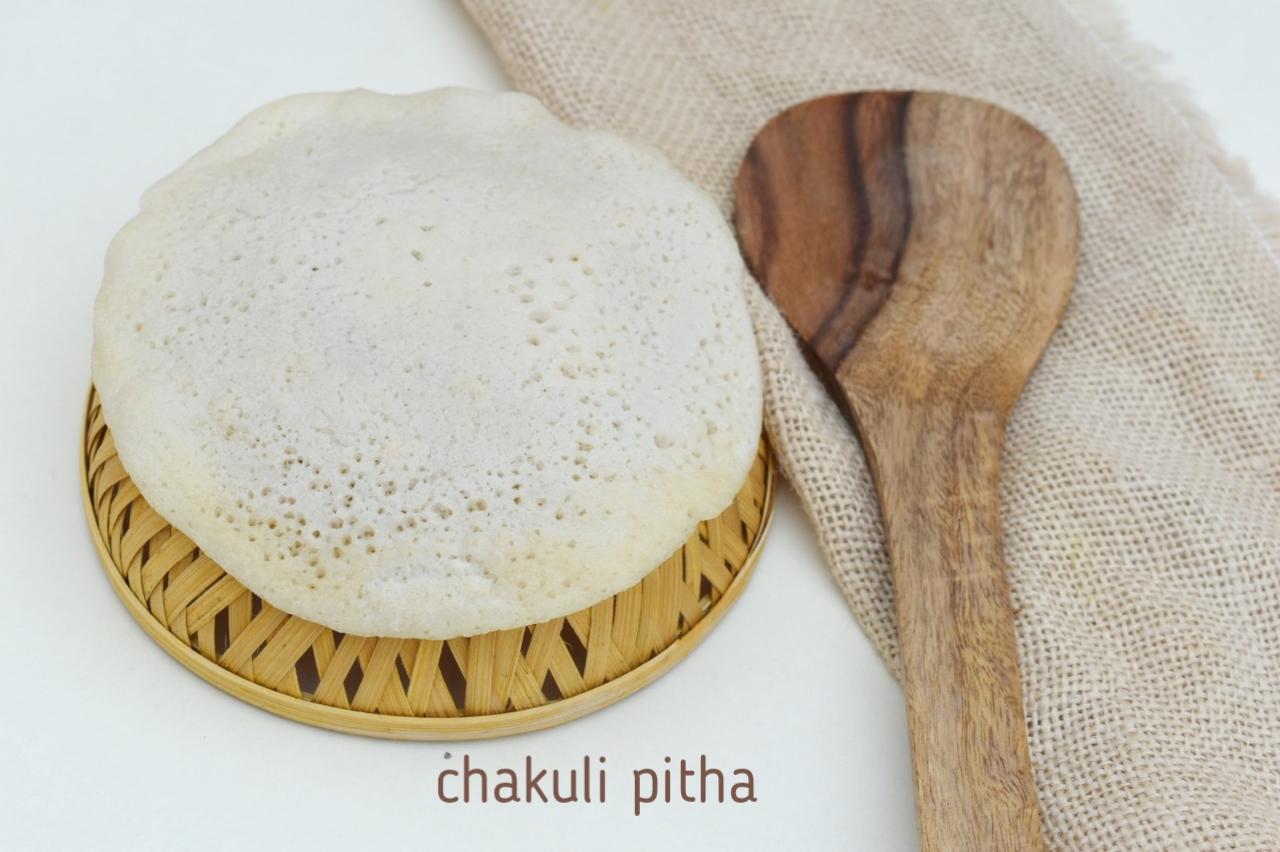 chakuli pitha recipe