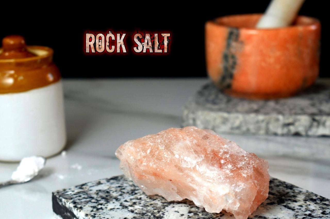 Rock Salt for cooking