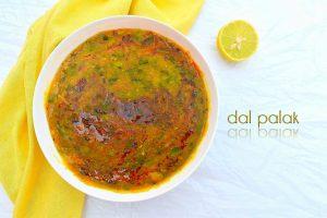 Dal Palak Recipe