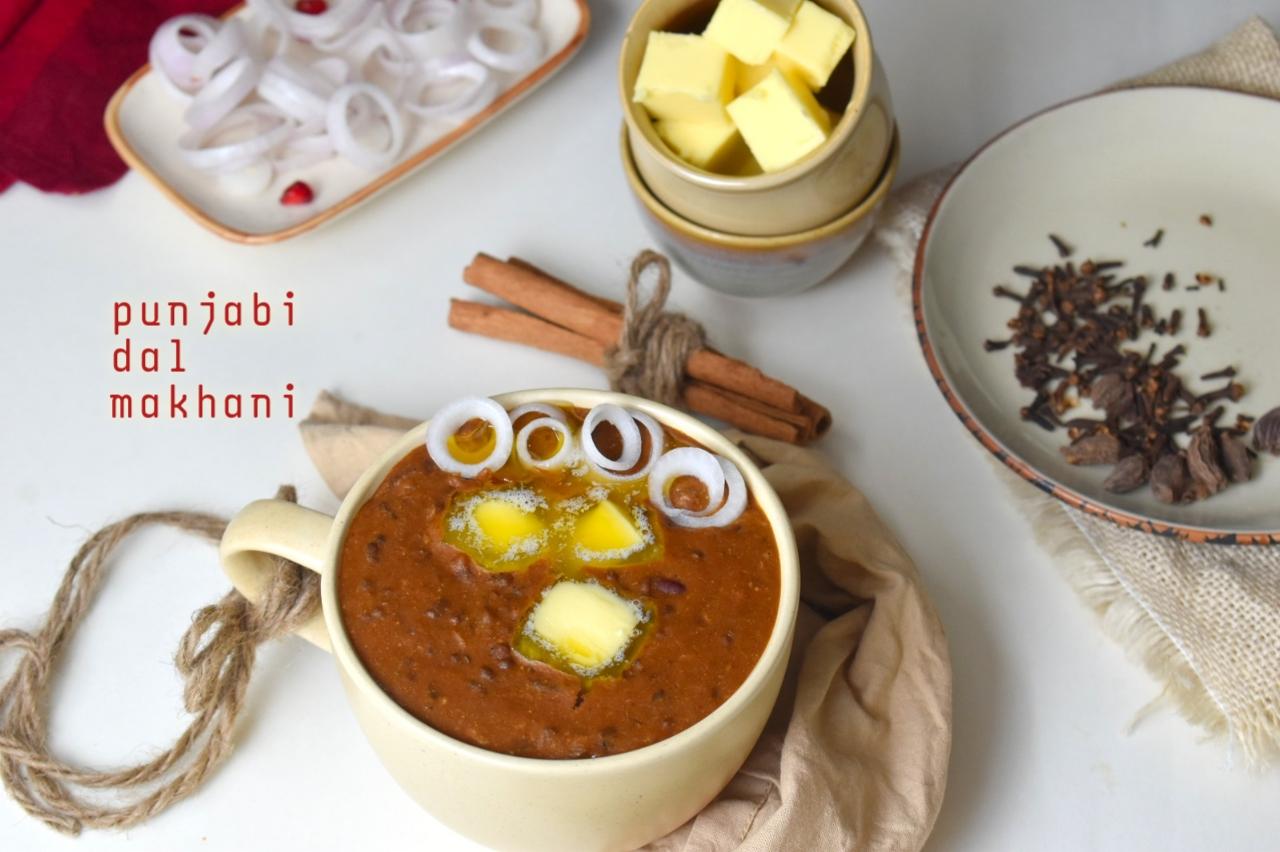 punjabi dal makhani