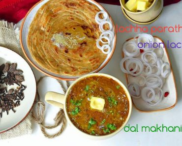 Dal Makhani Lachha Paratha