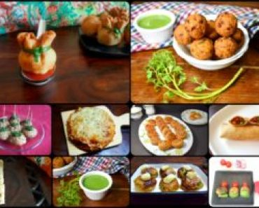 Vegetarian Starters Recipes