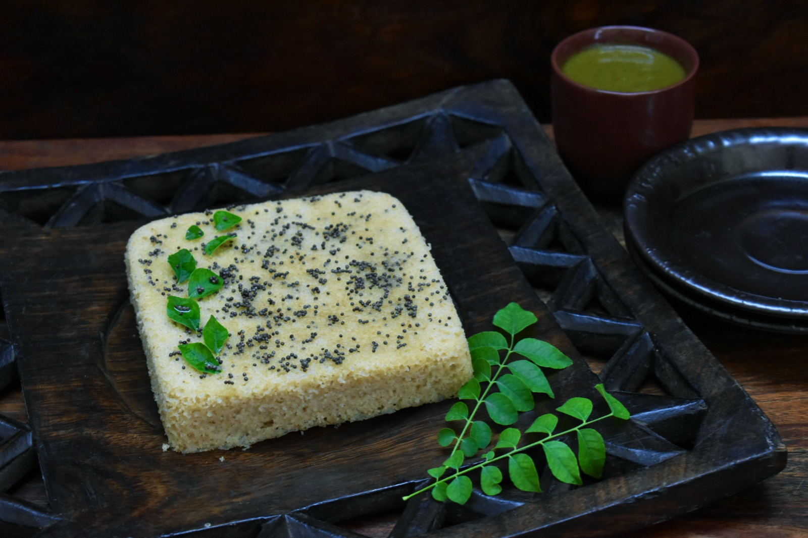 indian breakfast recipes - instant oats dhokla