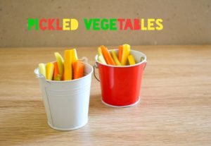 quick pickled vegetables