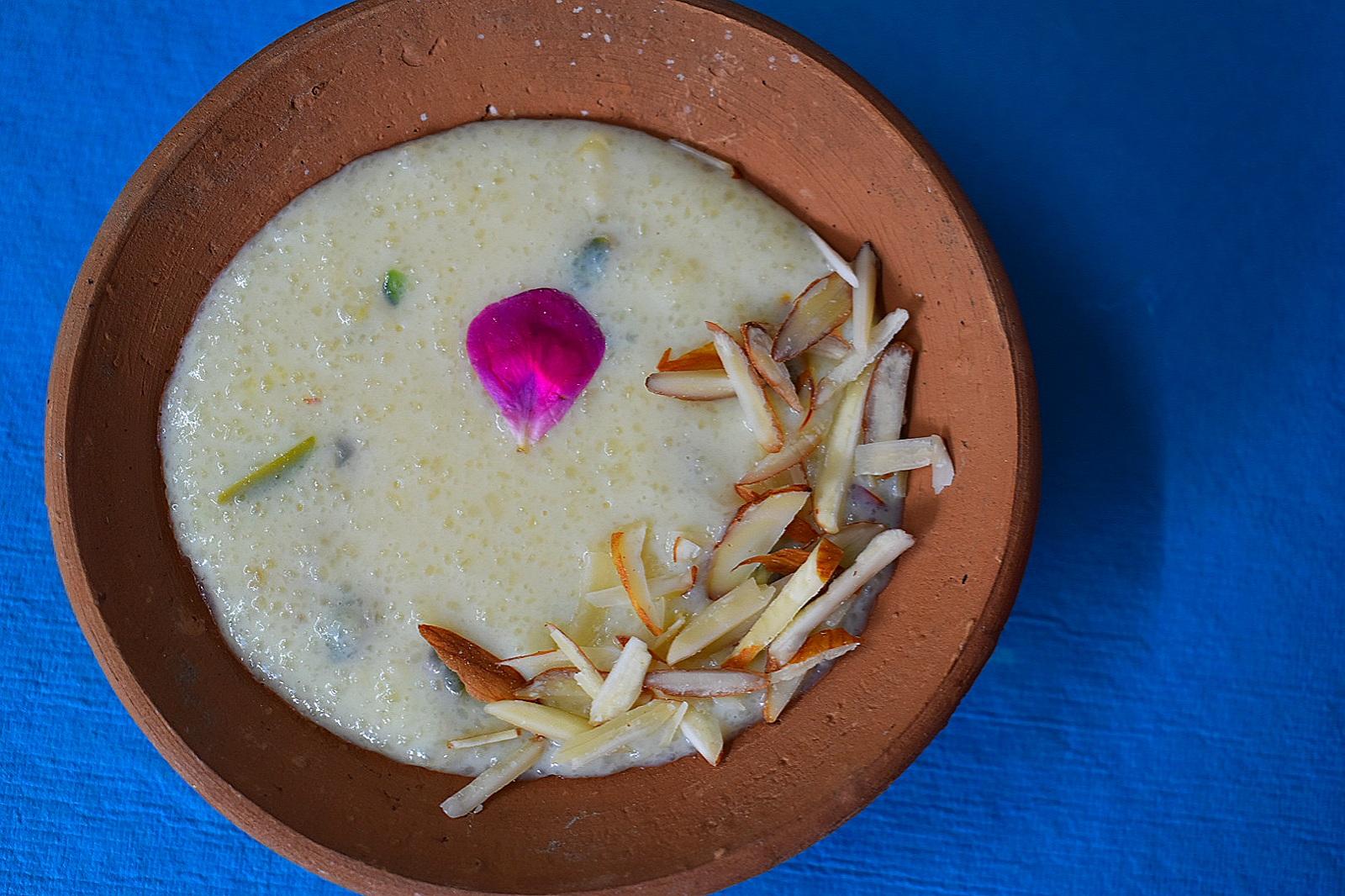 phirni recipe