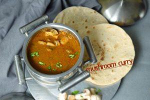 mushroom curry