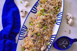mushroom rice recipe
