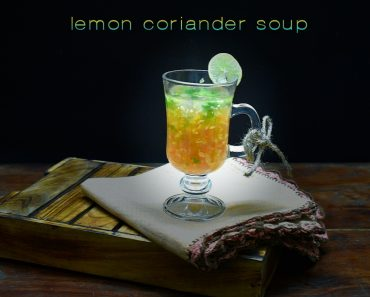 lemon coriander soup recipe