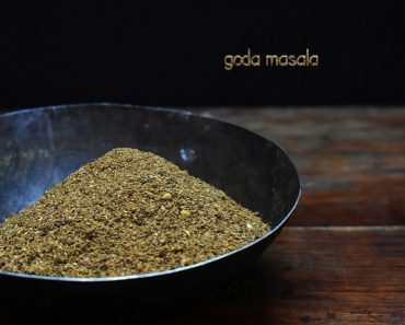 goda masala Recipe