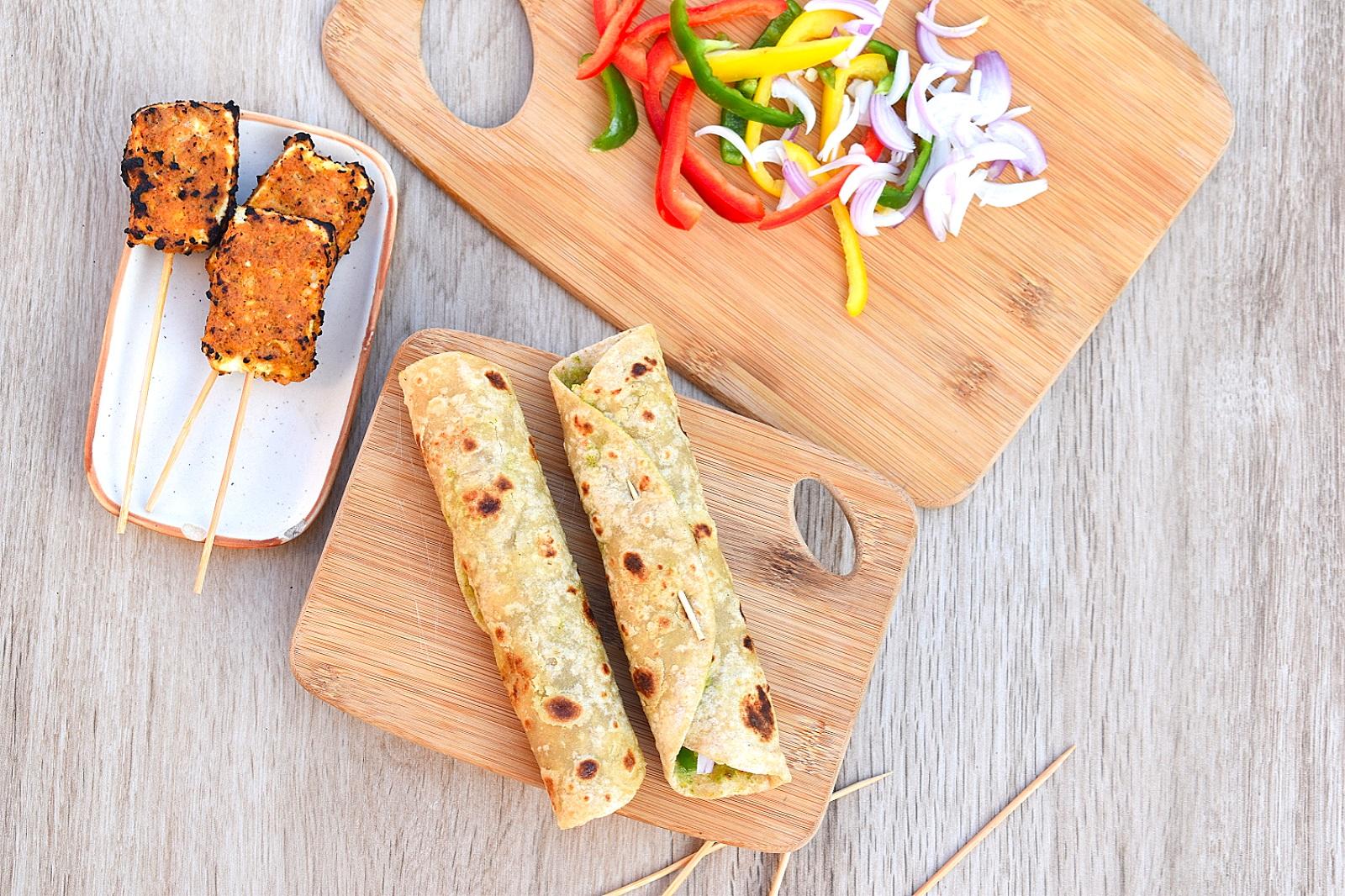 kathi rolls recipe
