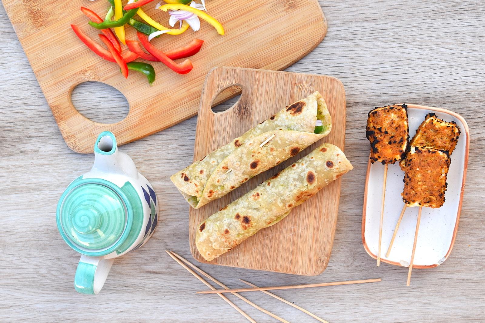 Indian Breakfast Recipes - Kathi Roll