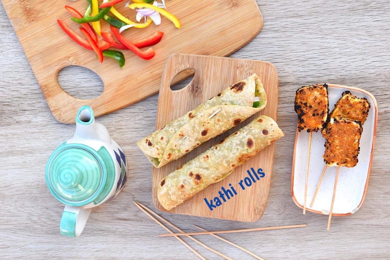 kathi roll recipe