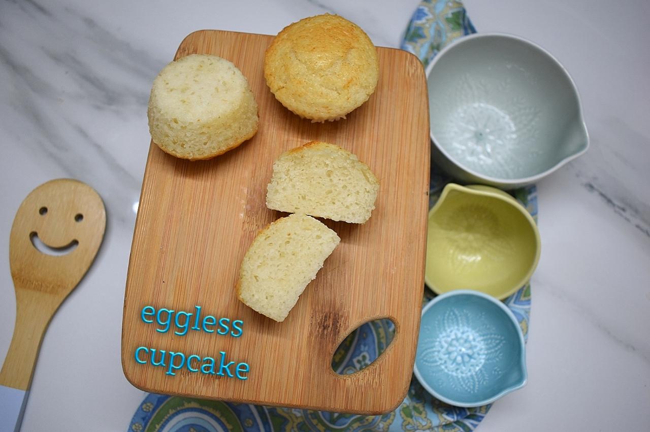 eggless cupcake recipe