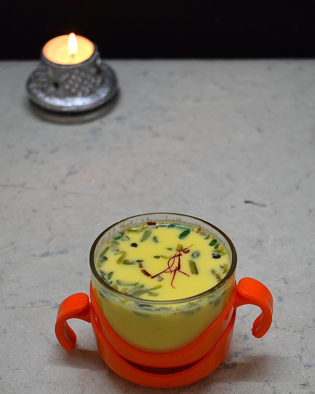 saffron milk