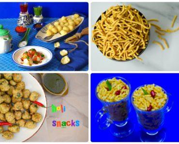 holi snacks