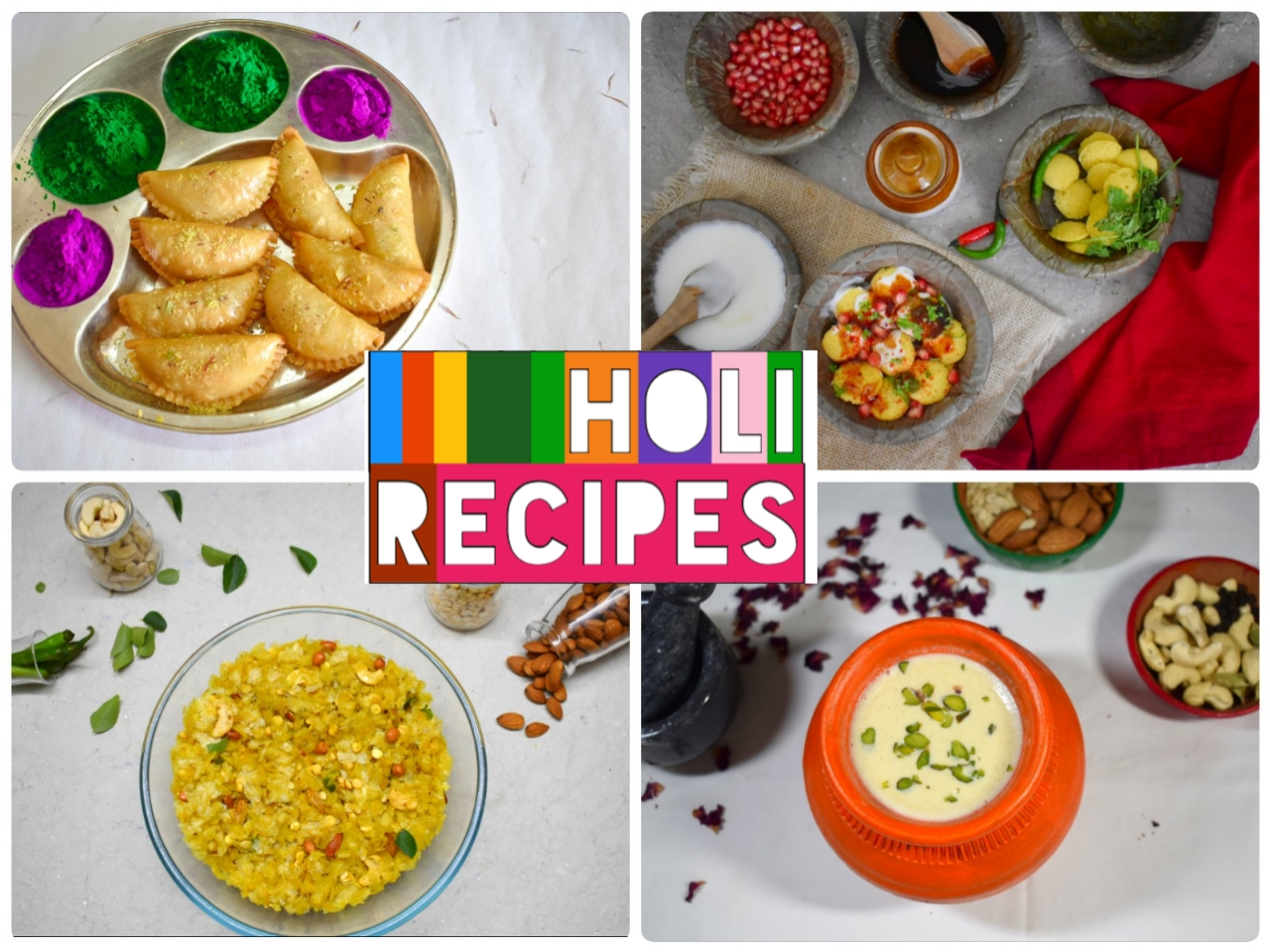 Holi Recipes Collection