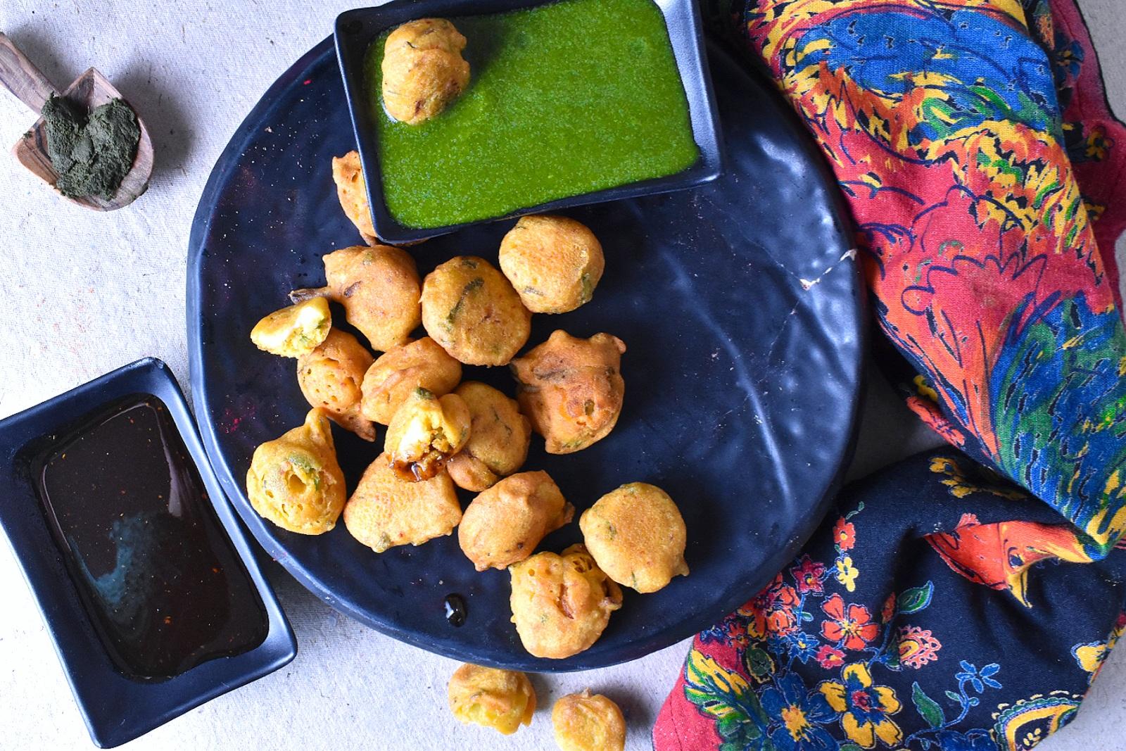 bhang pakora recipe