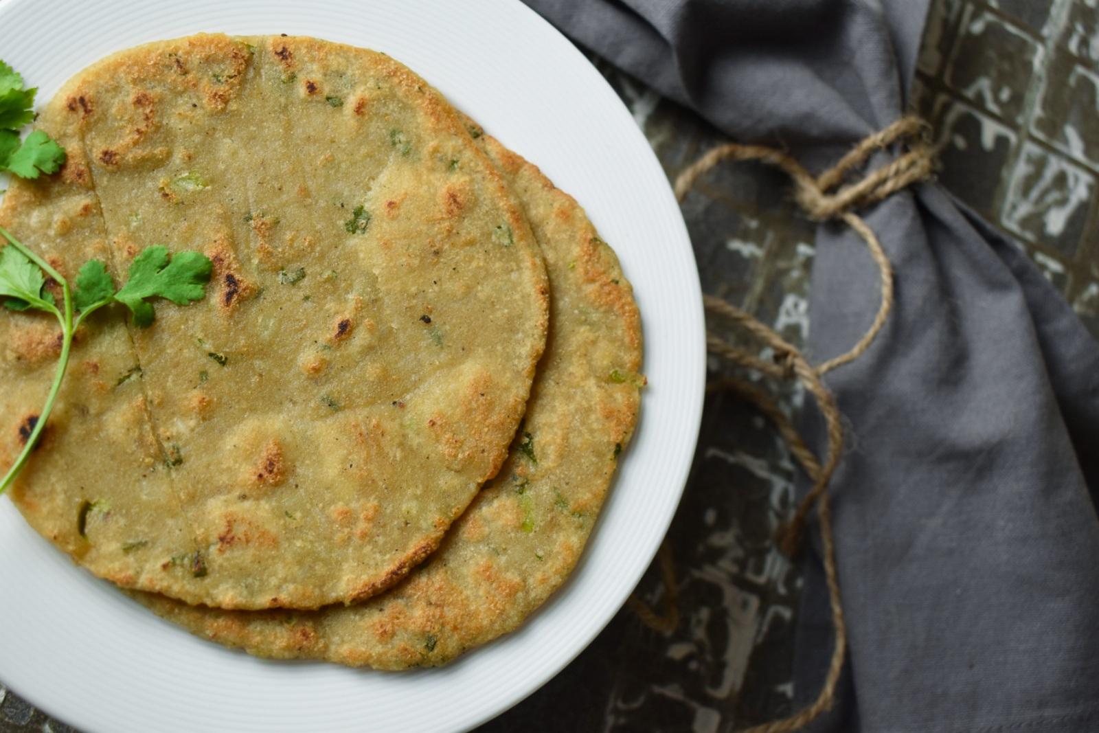 rajgira paratha