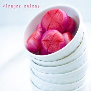 vinegar onions