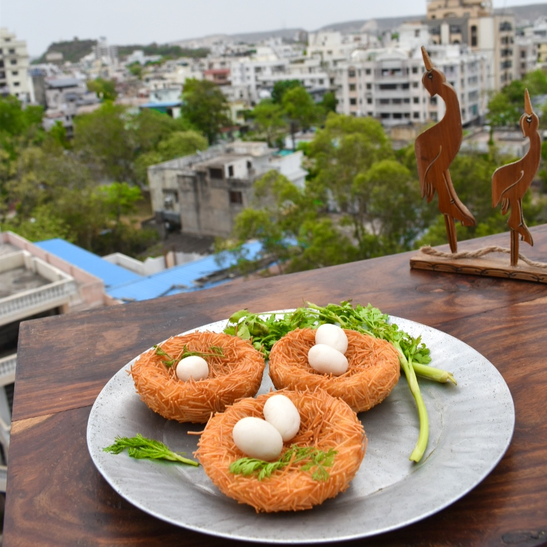 vermicelli coated cutlets
