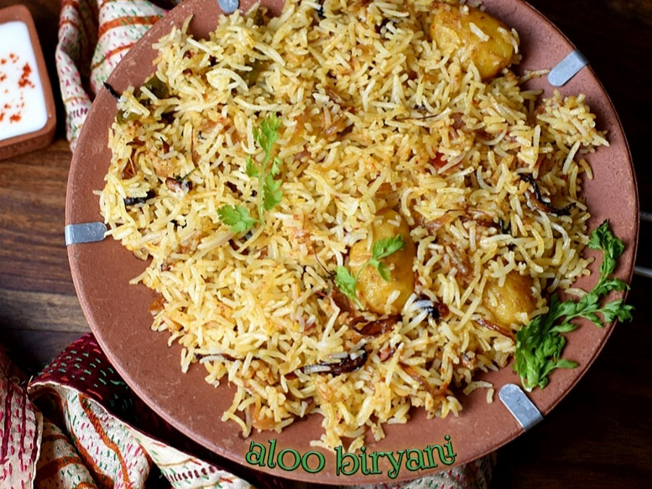 Aloo Biryani