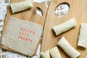 spring roll sheets