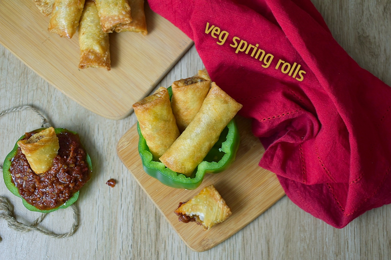 veg spring rolls
