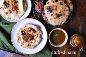 stuffed naan