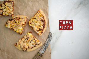 corn pizza