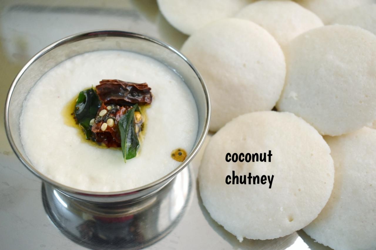 restaurant style coconut chutney