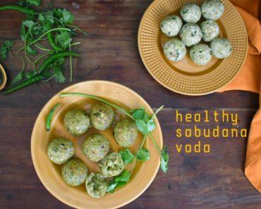 healthy sabudana vada