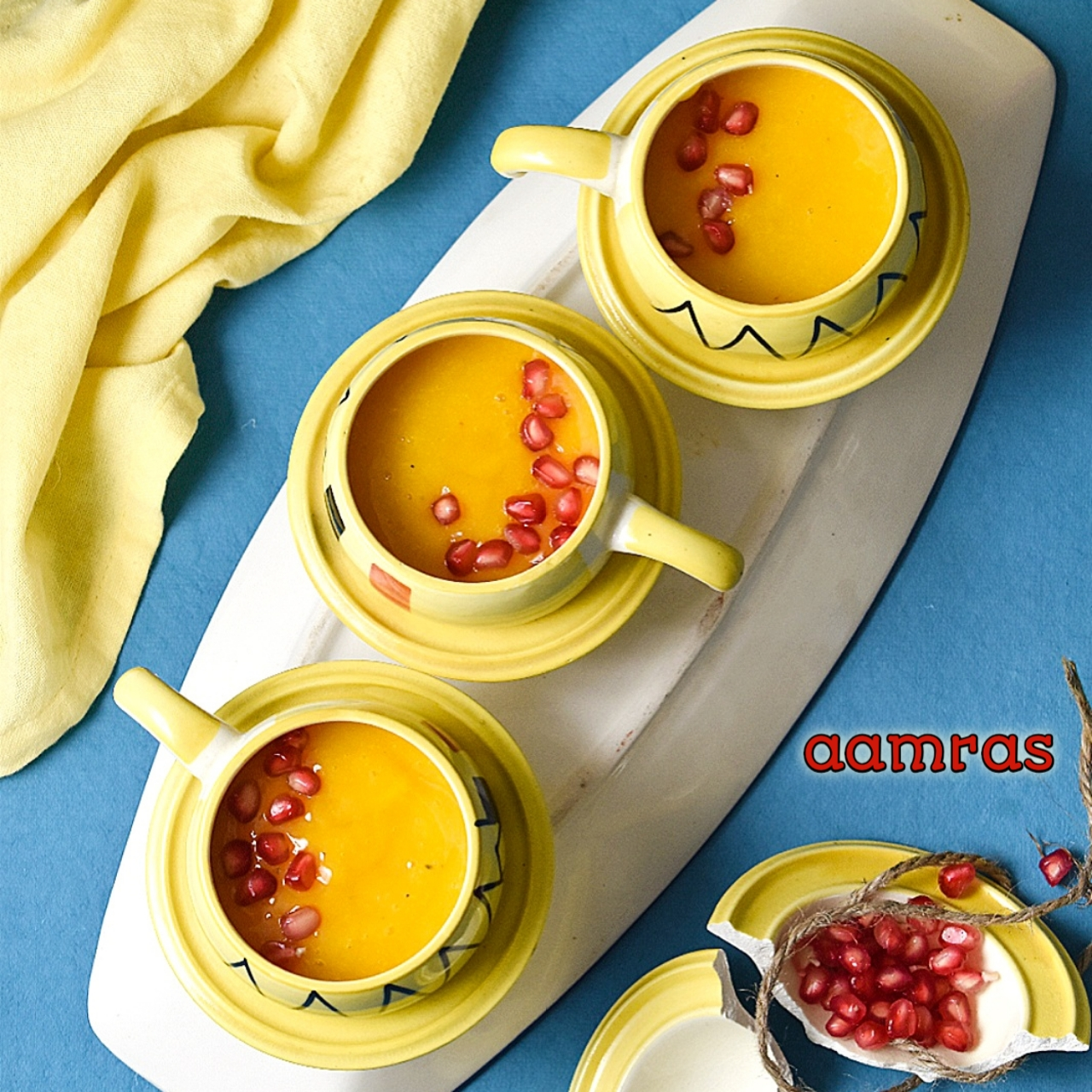 how to make aamras