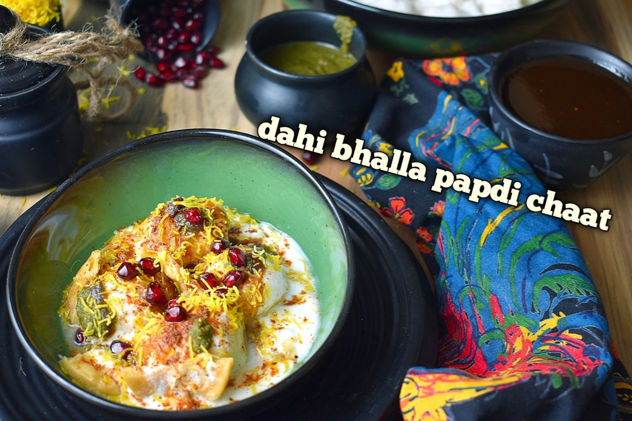dahi bhalla papdi chaat