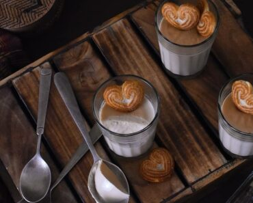 masala chai pannacotta