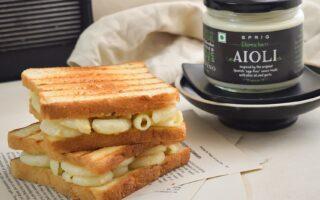 macaroni sandwich recipe