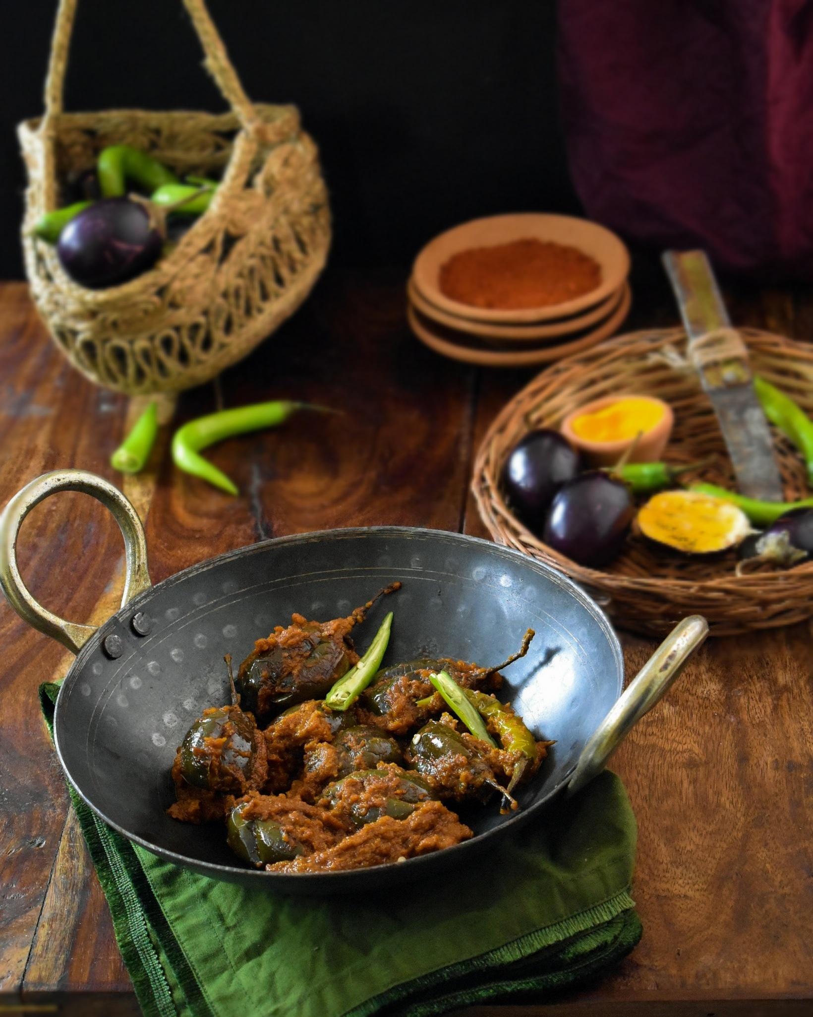 bharwa baigan recipe